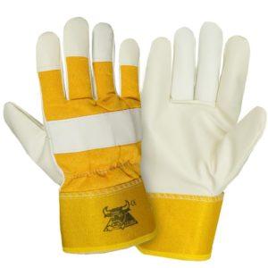 Перчатки кожаные комбинированные «Юкон»
