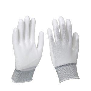 Перчатки нейлоновые бесшовные, цв. белый