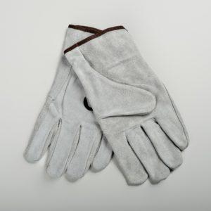 Перчатки серые цельноспилковые, особопрочные