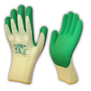 Перчатки «София» с рельефным латексным покрытием