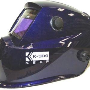 Маска сварщика КЕДР К-304, синяя