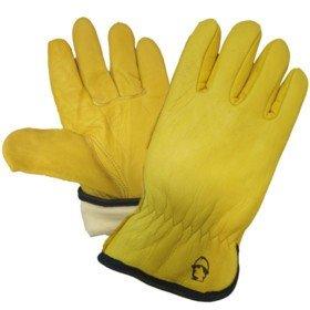 Перчатки «Драйвер» из кожи КРС, Thinsulate 40C