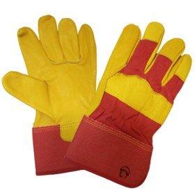 Перчатки кожаные комбинированные «Русский лев»