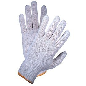Перчатки люкс «РосМарка» белые, 10й класс, без ПВХ, вес 50 грамм