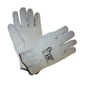Перчатки серые цельноспилковые «Драйвер»