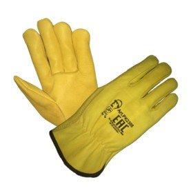 Перчатки «Драйвер» из кожи КРС