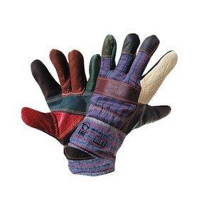Перчатки кожаные «Радуга»