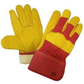 Перчатки кожаные комбинированные «Русский лев», Thinsulate