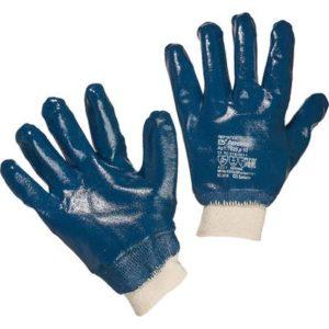 Перчатки х/б с полным ПВХ покрытием, манжет резинка