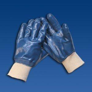 Перчатки с полимерным покрытием нитрил