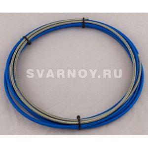 Направляющая спираль Parker PB1535 синяя с литым ниппелем