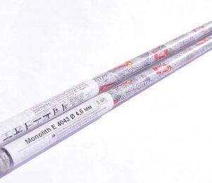 Электроды сварочные Monolith E 4043 Ø4 мм: мини-тубус 3 шт