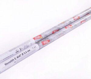 Электроды сварочные Monolith E 4047 Ø2.4 мм: мини-тубус 3 шт