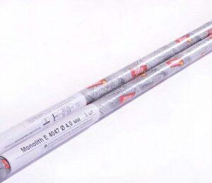Электроды сварочные Monolith E 4047 Ø4 мм: мини-тубус 3 шт