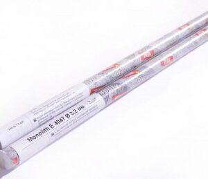 Электроды сварочные Monolith E 4047 Ø3.2 мм: мини-тубус 3 шт